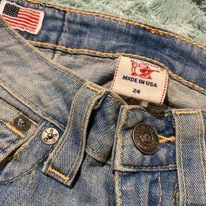 Women's True Religion Flare Jeans